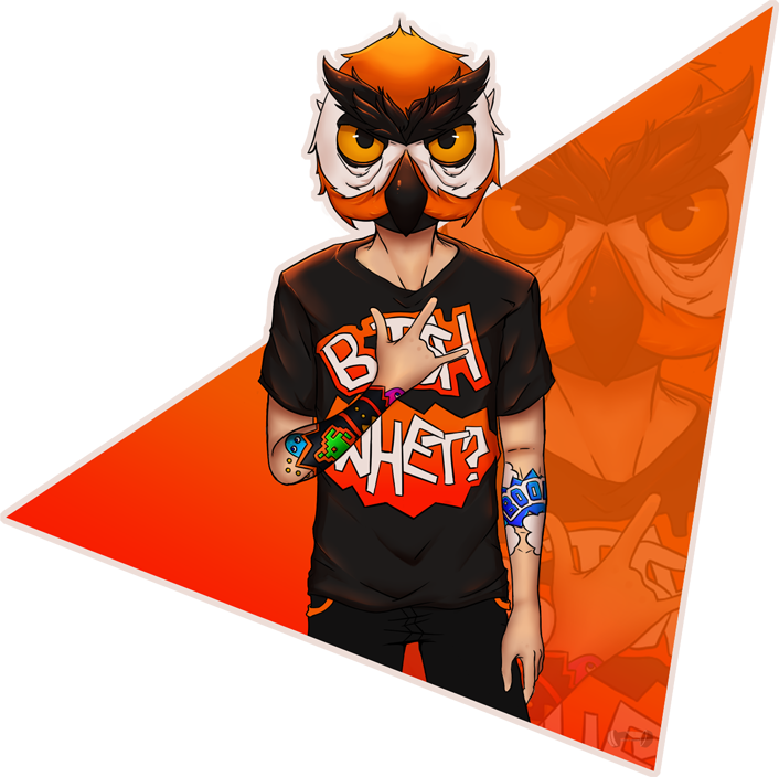 V drawing gta five. Owl mask online by