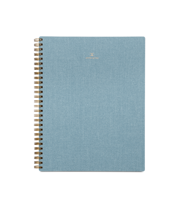 V drawing notebook. Notebooks appointed memo