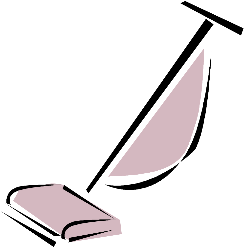vacuuming clipart