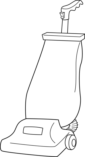Vacuum transparent draw. Collection of cleaner