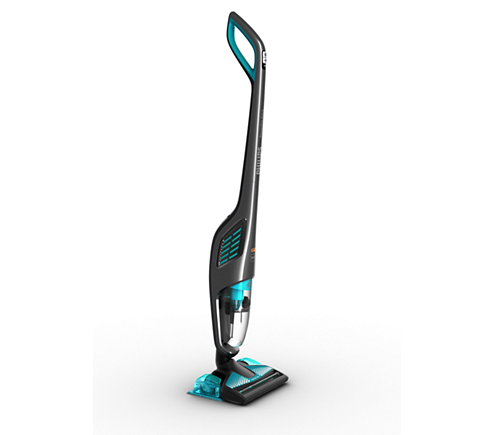Vacuum transparent janitor. Powerpro aqua stick cleaner