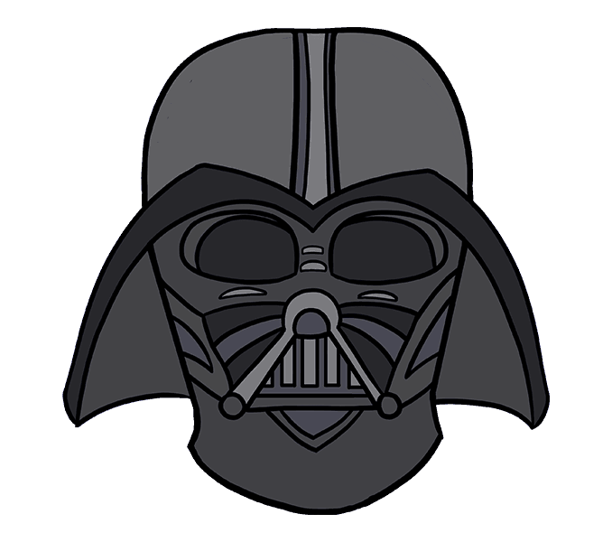 Dart drawing animated. How to draw darth