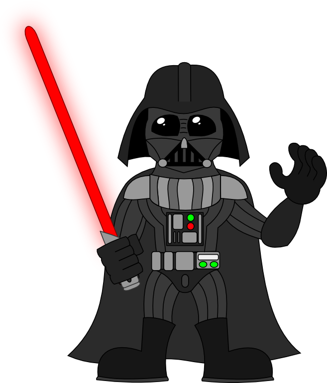 Vader drawing animated. Sirrob fathers day pinterest