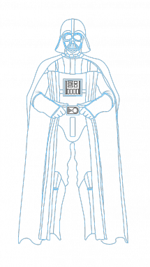 Vader drawing step by. How to draw darth