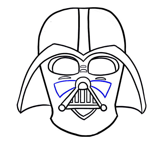 How to draw in. Darth vader clipart step by step clipart freeuse download