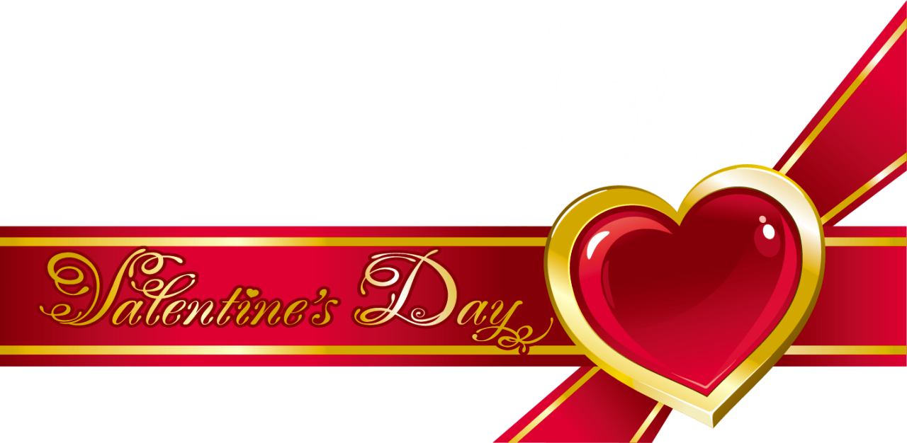 Valentine background png. Red decor with bow
