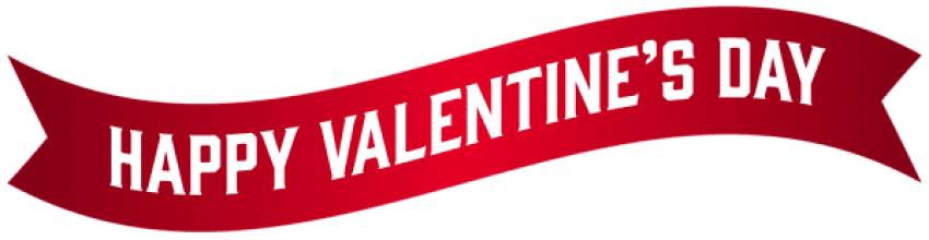 Valentine Banner Transparent Png Clipart Free Download Ywd