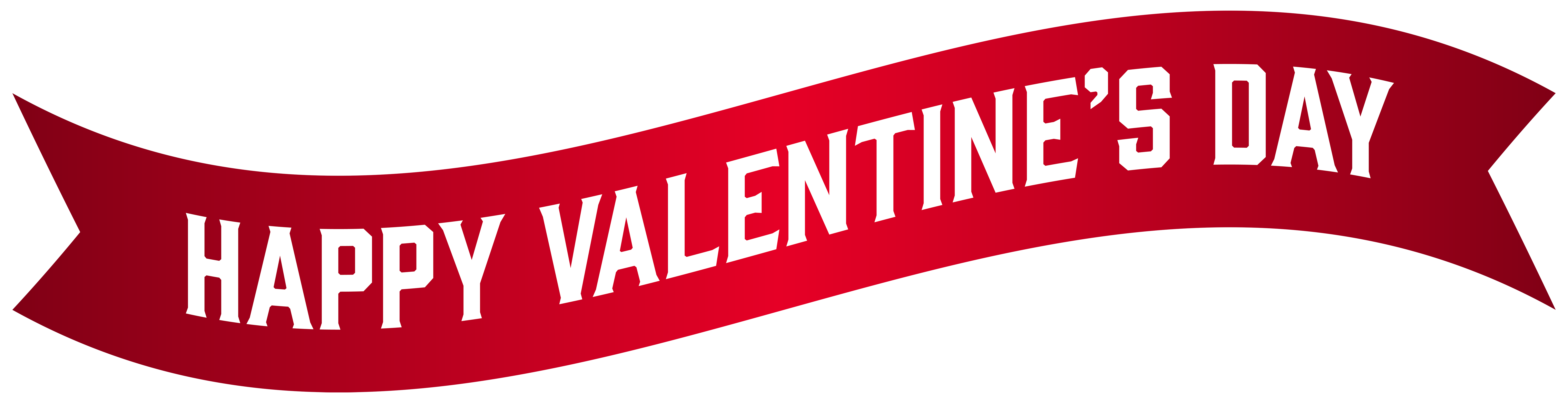Valentine banner png. Happy s day clip