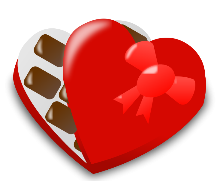 Valentine candy png. Valentines day chocolates clipart