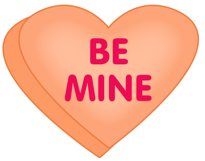 Valentine candy png. Heart clipart