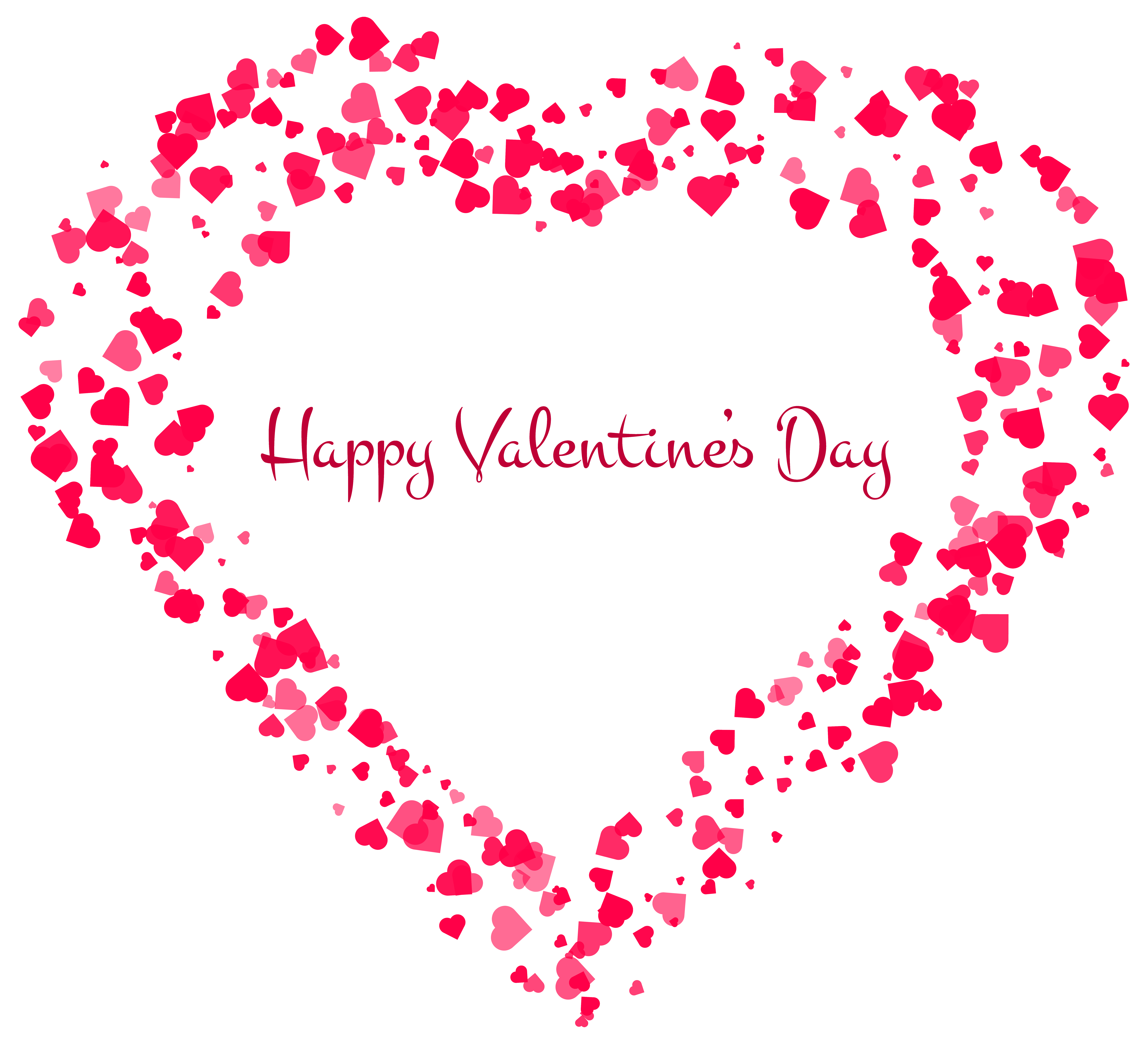 Valentine clip art clear png. Happy s day decorative
