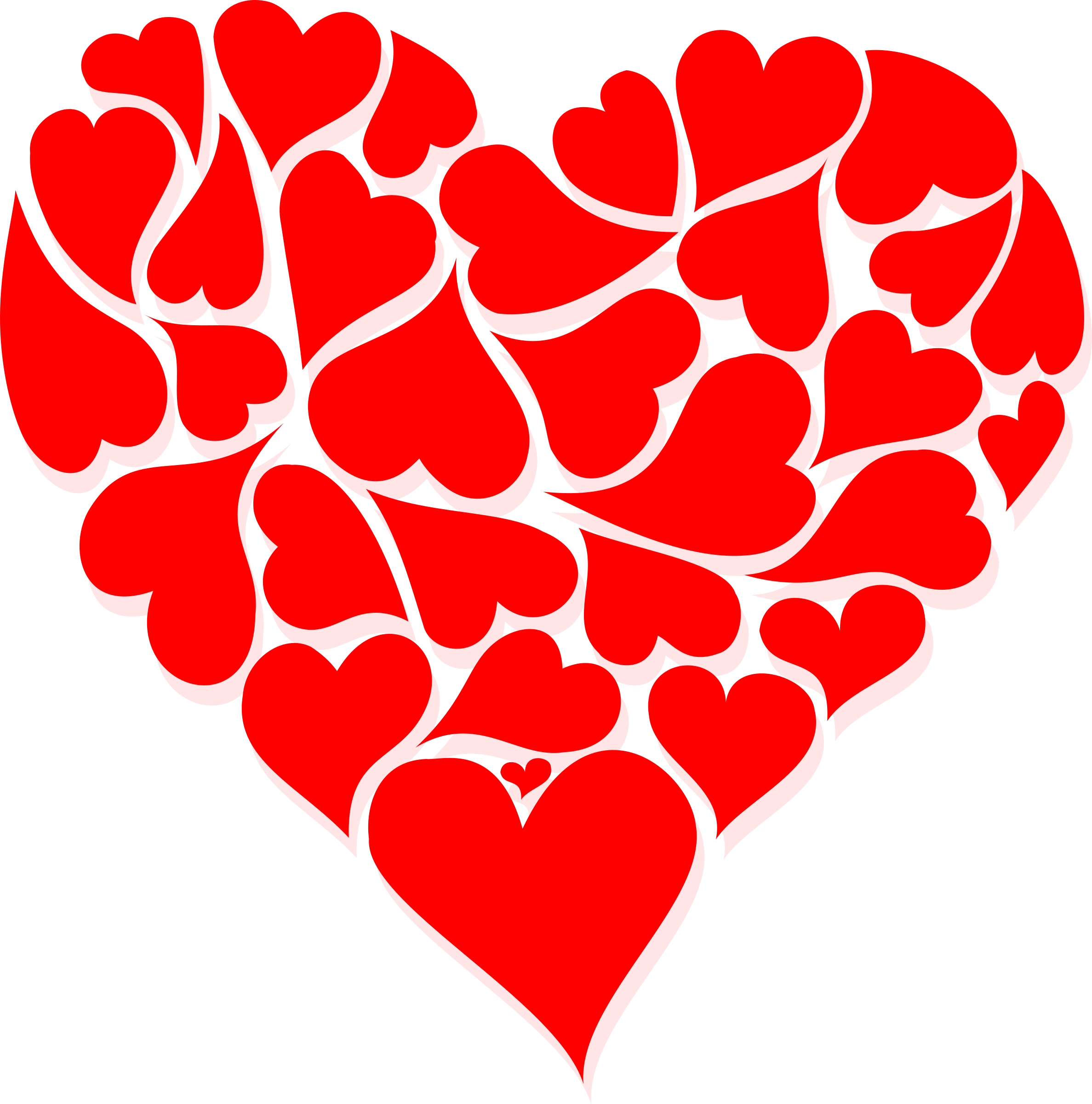 Valentines day heart png. Happy texture transparentpng