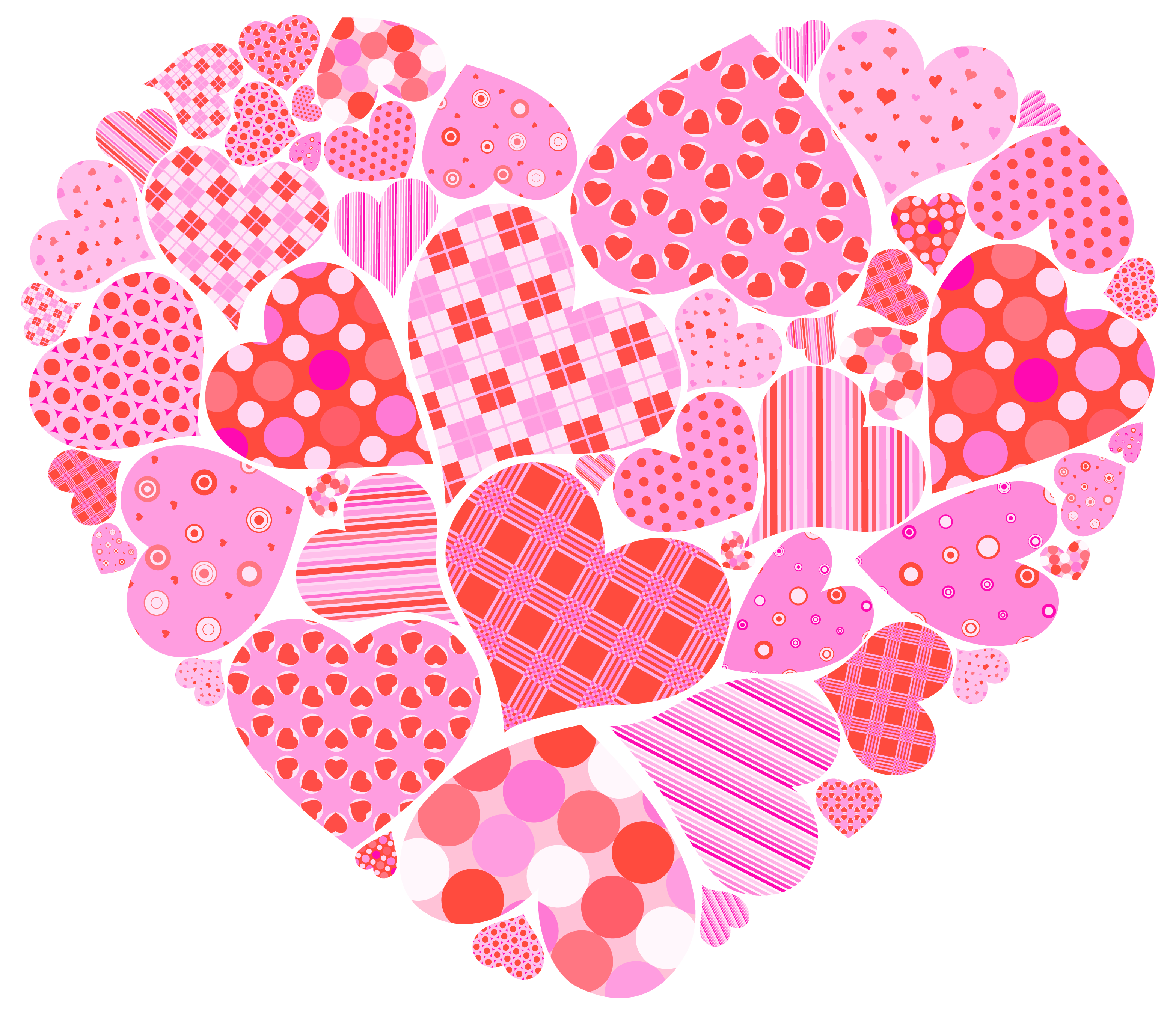 Heart of hearts clipart. Valentines day clip art png clip art royalty free library