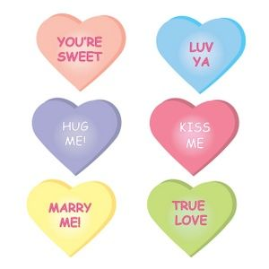 valentine clipart message