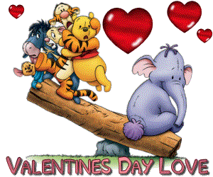 Valentine clipart pooh. Happy valentines day