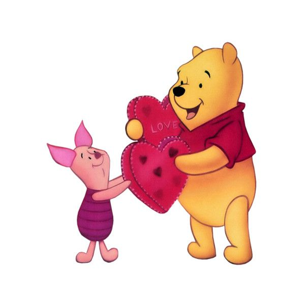 valentine clipart pooh