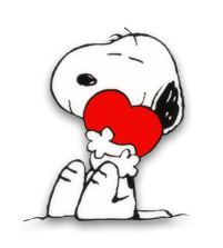 Valentine clipart snoopy. Happy s day png