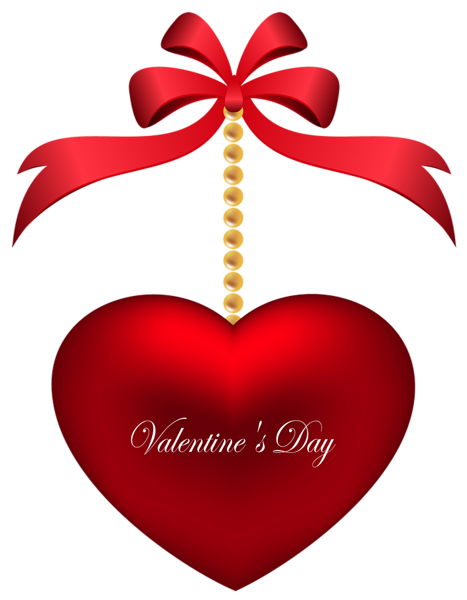 Valentines transparent. Day deco heart png
