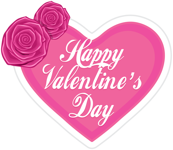 Valentine png pink. Happy s day in