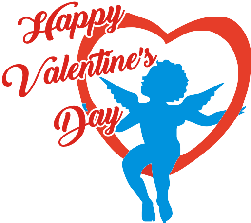 Valentine logo png. Valentines day transparent background