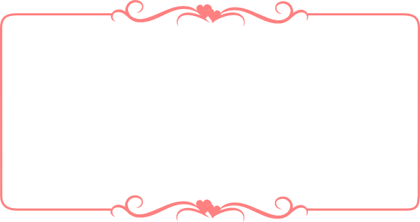 Valentines border png. Cute borders transparent images