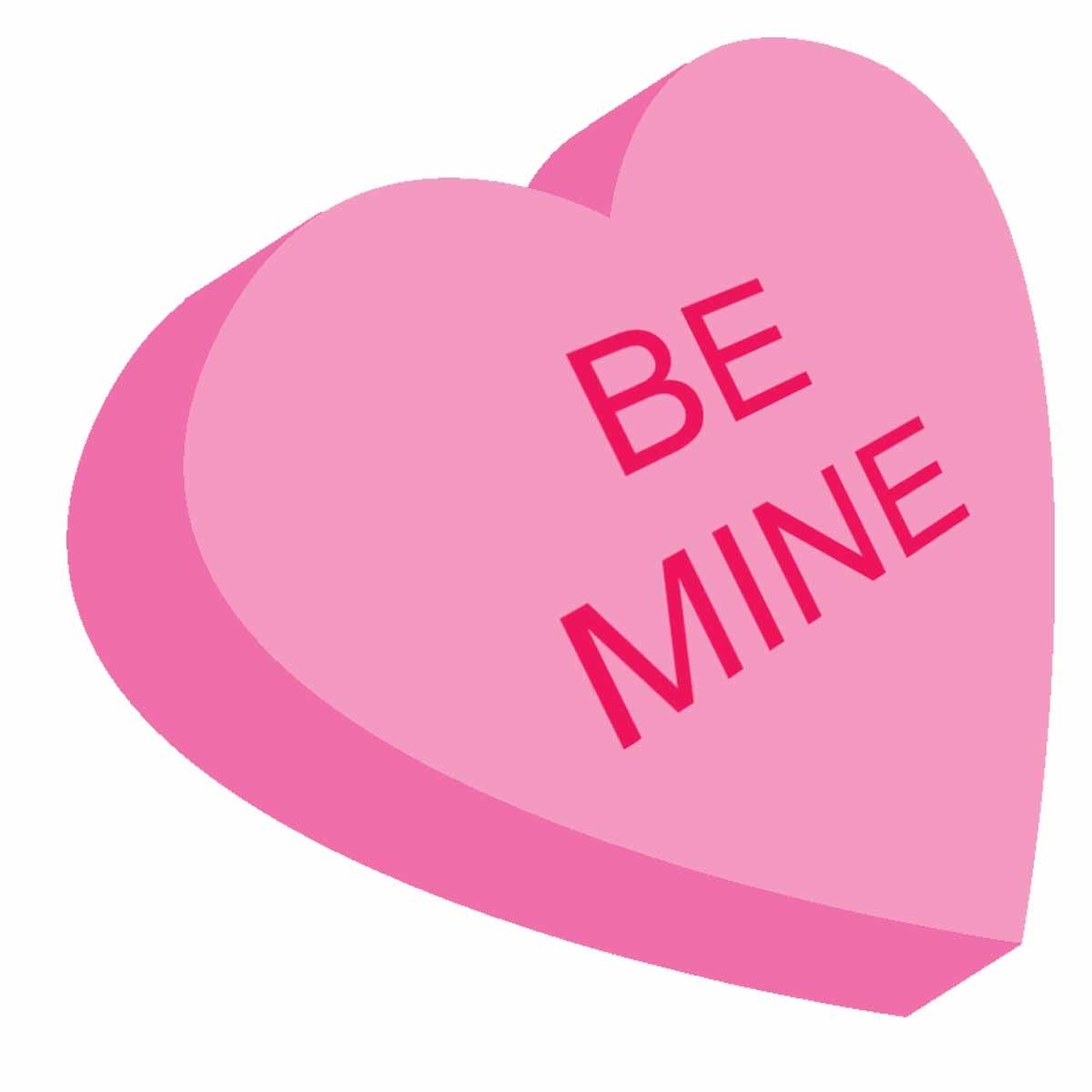 Valentine's clipart my valentine. Will you be pink