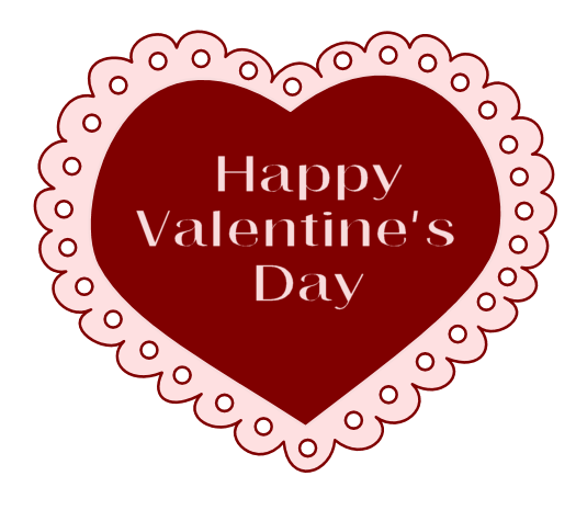 Valentines clipart png. Valentine lace