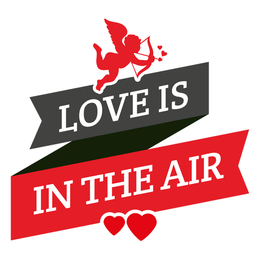 Message valentine ribbon transparent. Valentines cupid png vector royalty free download