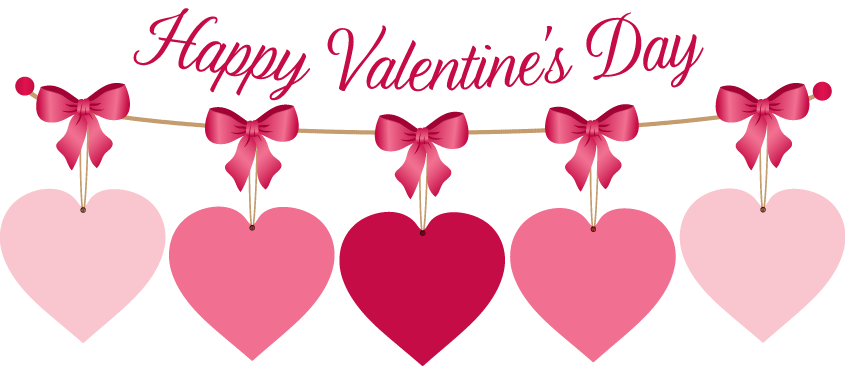Valentines day clipart png. For kids valentine week