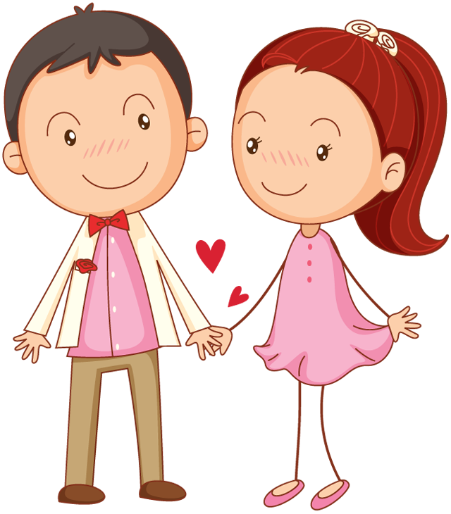 Valentines day couple png. Free download arts