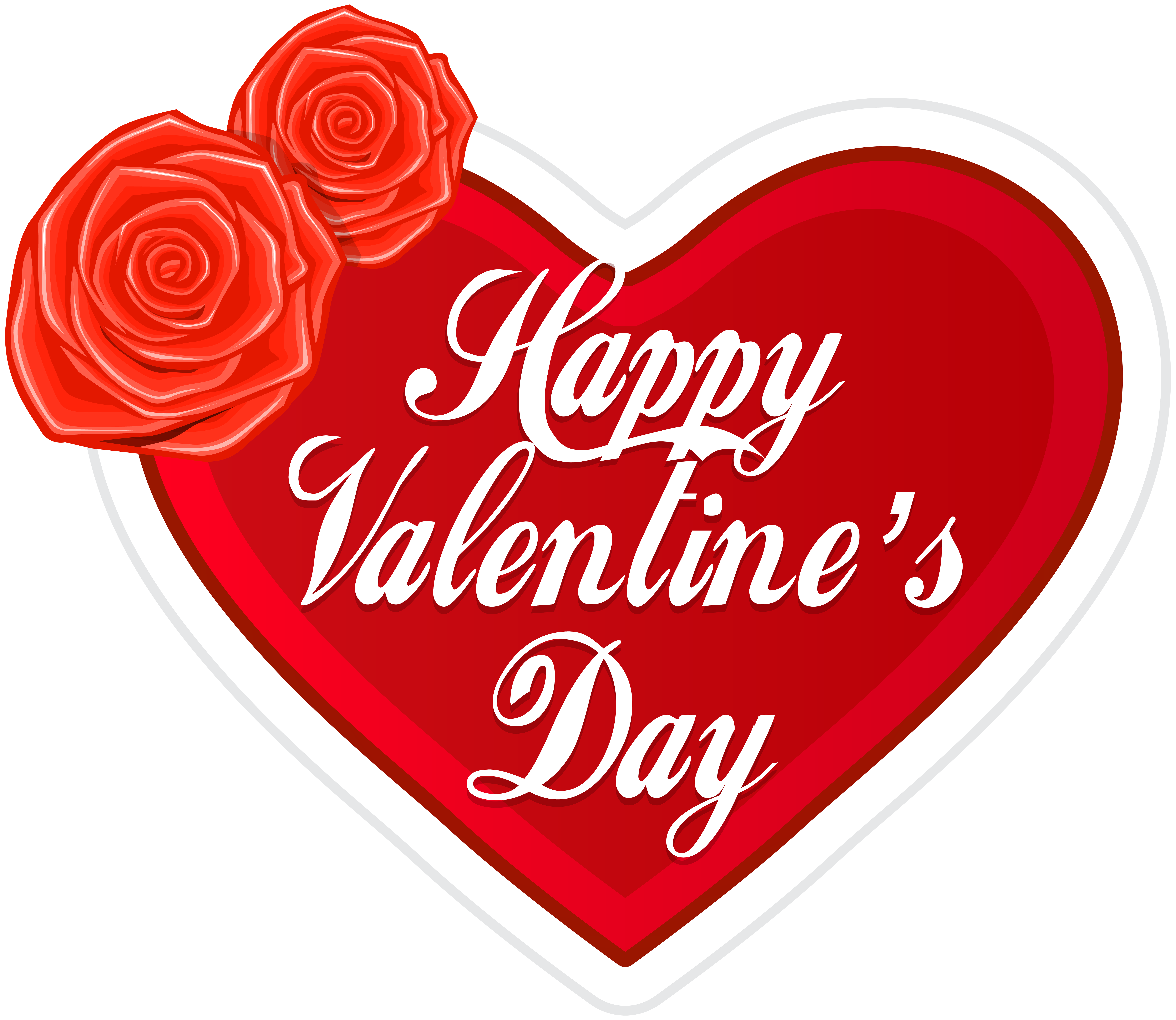 Happy valentine s heart. Valentines day clip art png clip stock