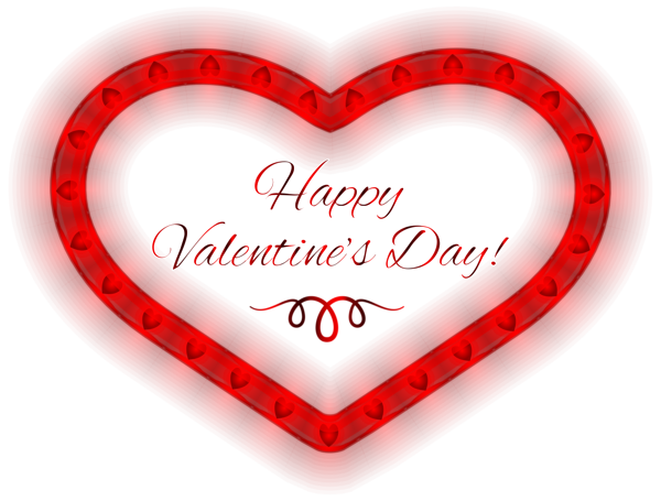 Valentines day hearts png. Happy heart clipart image