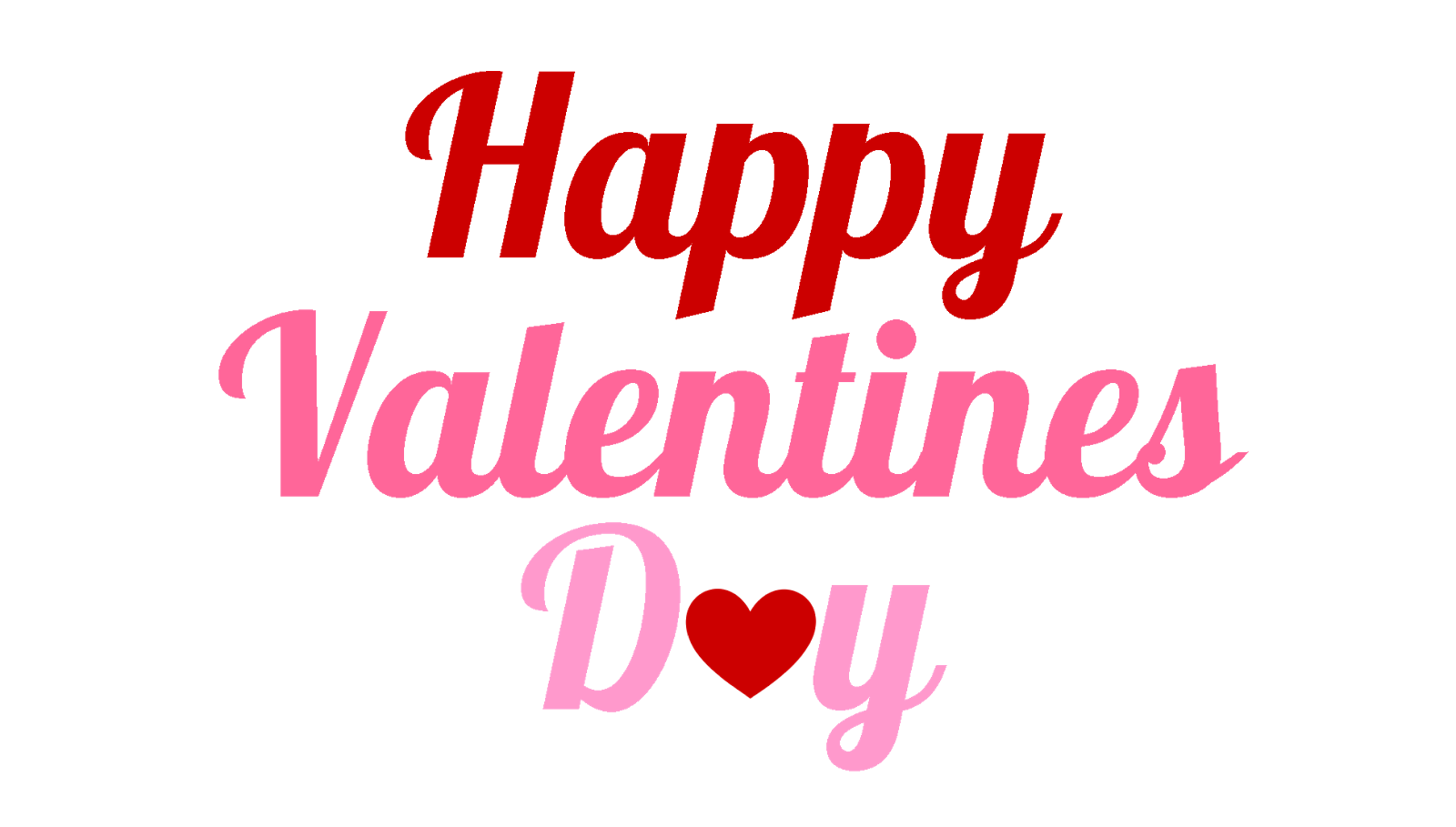 Valentines day logo png. Happy image free download