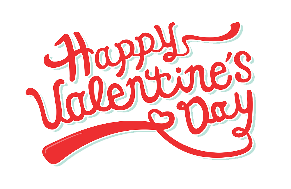 Valentines day text png. Happy valentine s transparent