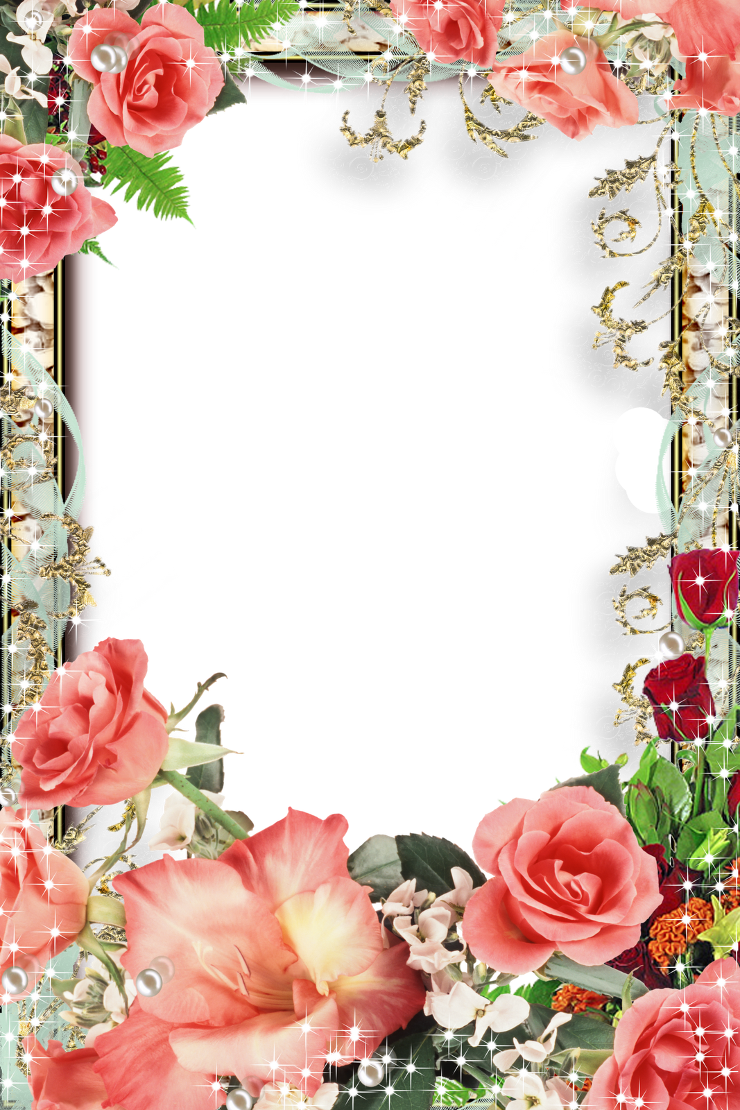 Valentines flower angels frame png. Frames pinterest stationary