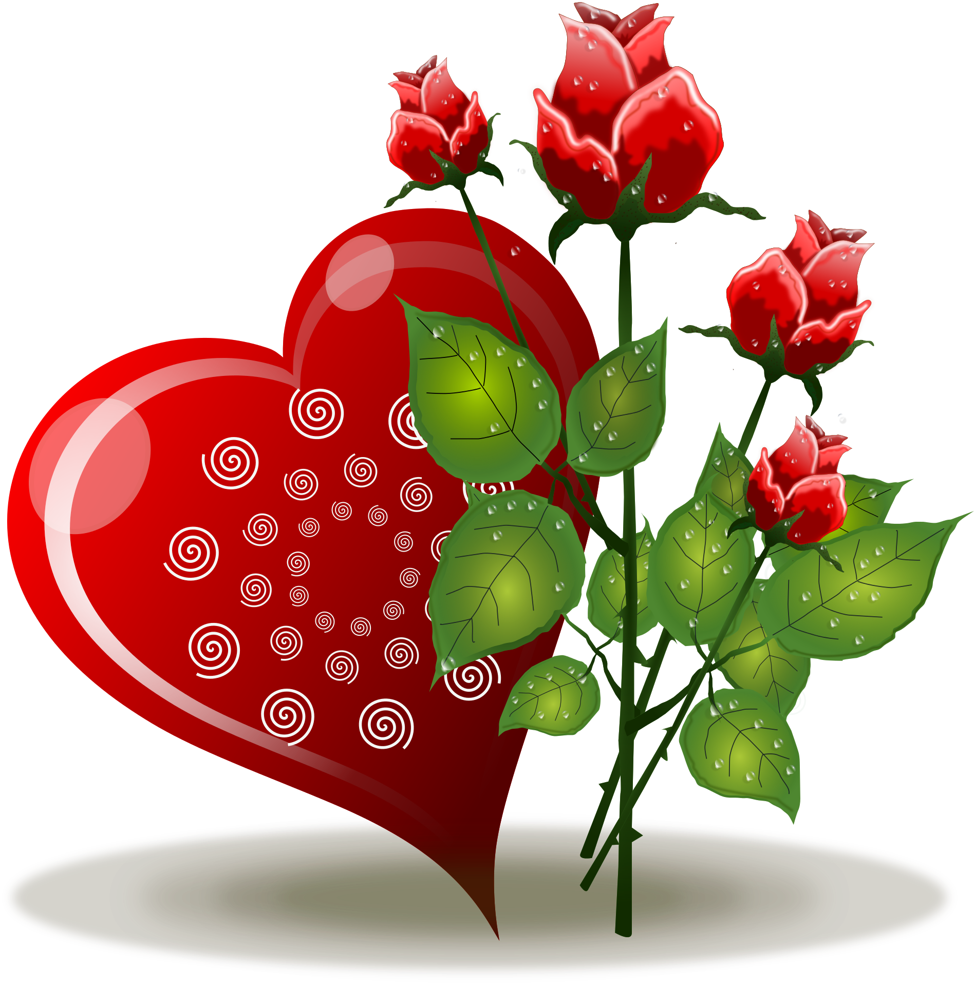 Valentines Flowers Transparent Png Clipart Free Download Ya