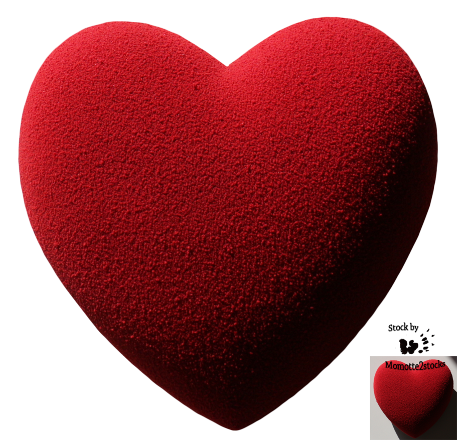 Valentines day heart png. High quality image vector