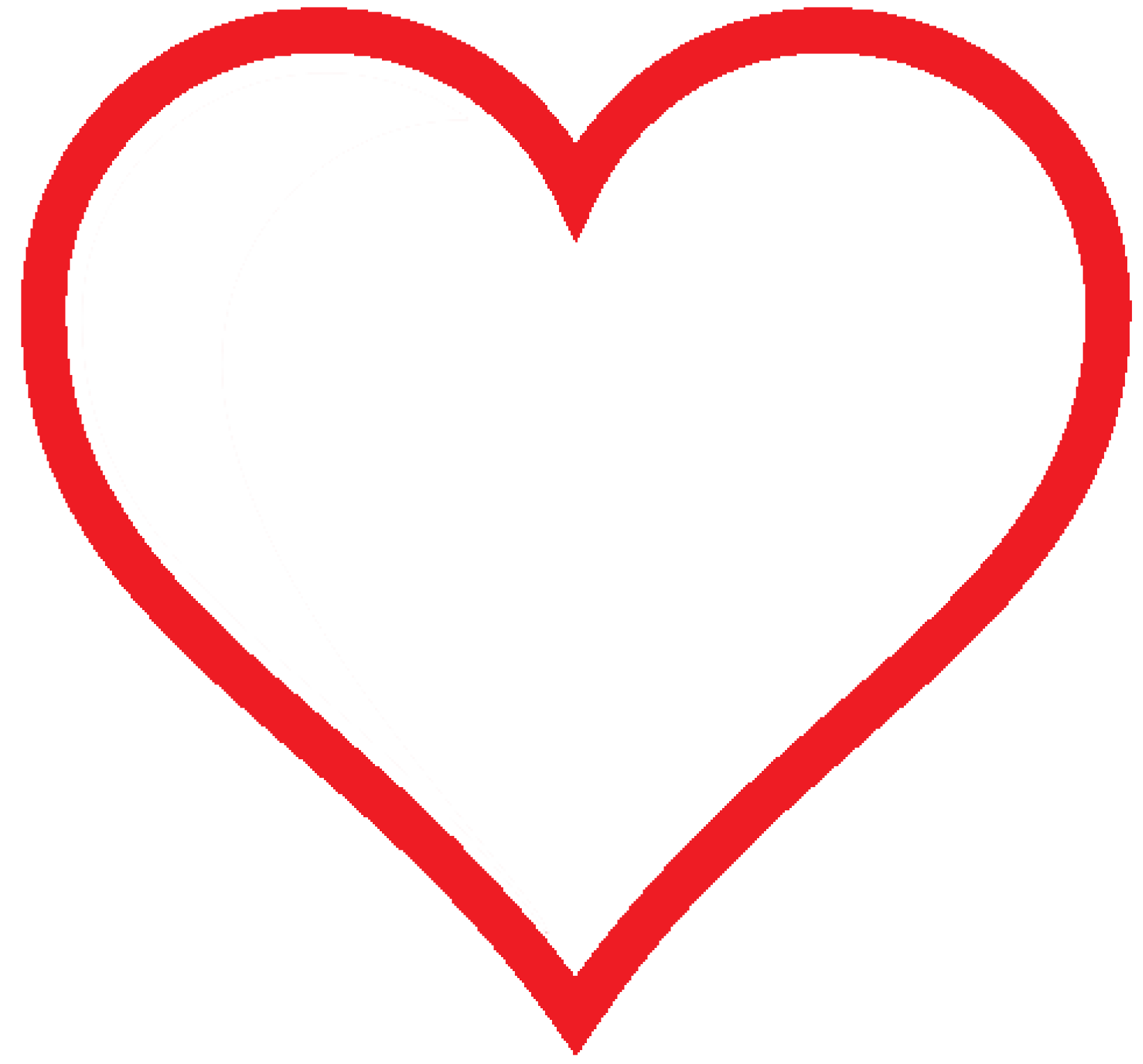 Simple clipart at getdrawings. Valentines heart png png library download