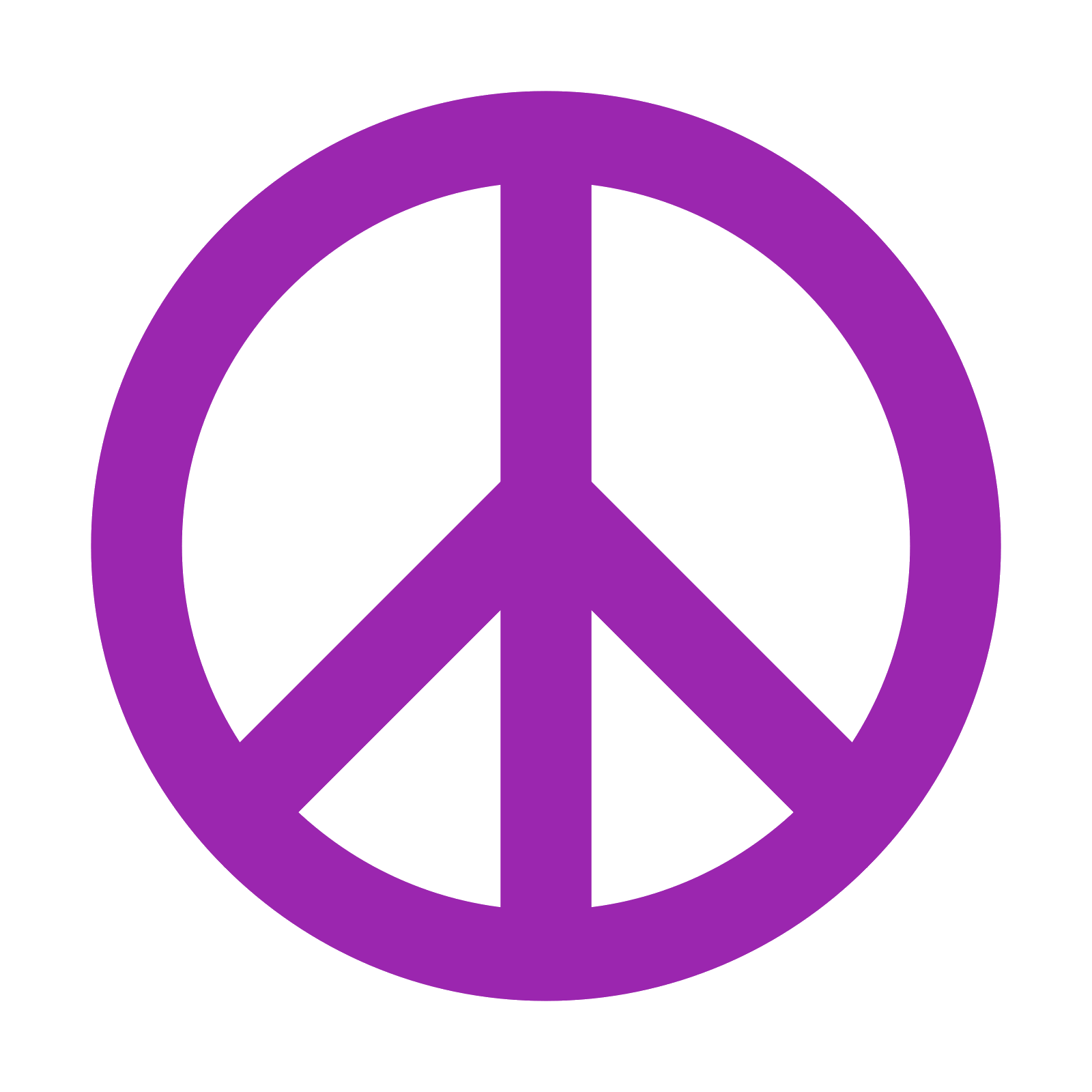Valley vector peaceful. Peace symbol icon free