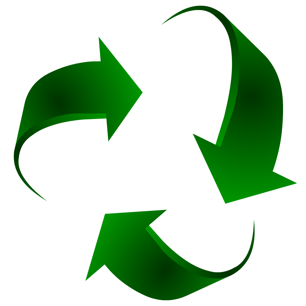 Valley vector symbol. Recycle clean recycling