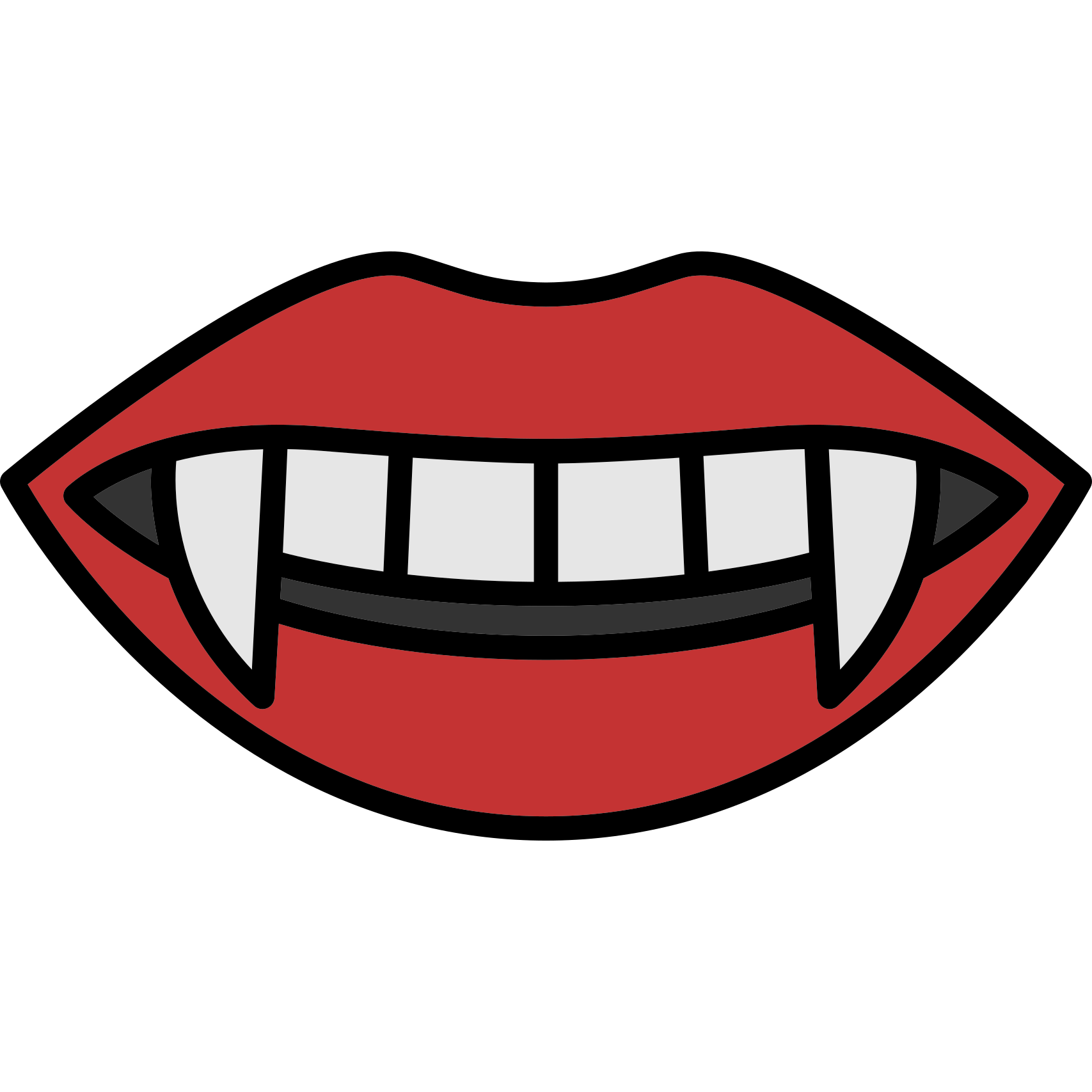 Vampire fangs high res png. Mouth clip art teeth