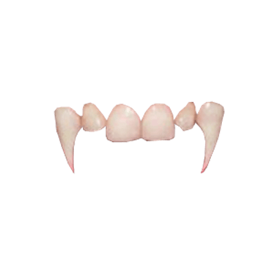 Vampire fangs high res png. Teeth transparent stickpng