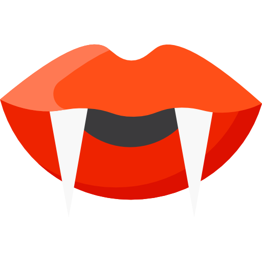 Vampire mouth png. Icon svg