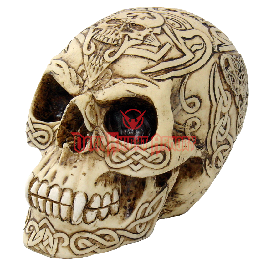 Vampire skull png. Carved celtic cc from