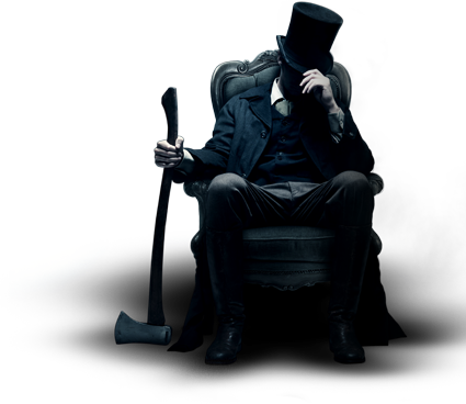 Vampire statue png. Abe lincoln hunter survey