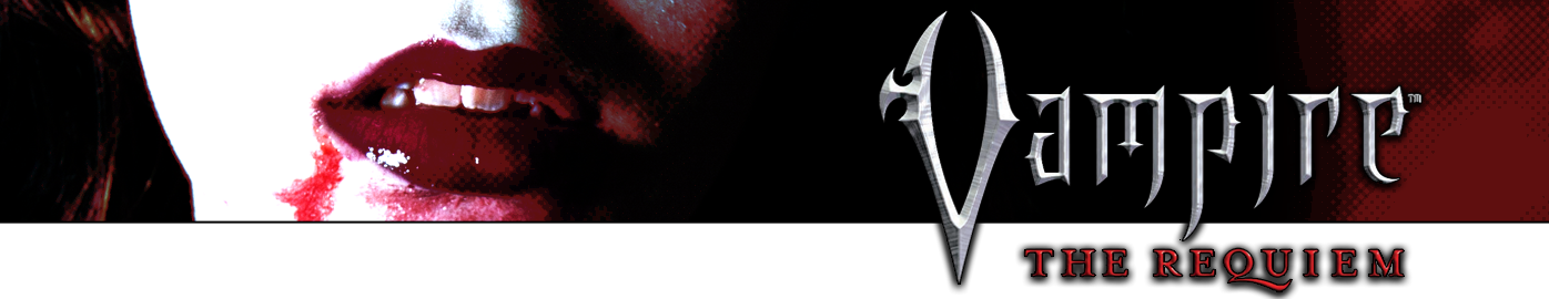 Vampire the masquerade png banner. Techgnostic psychonaut requiem misconceptions