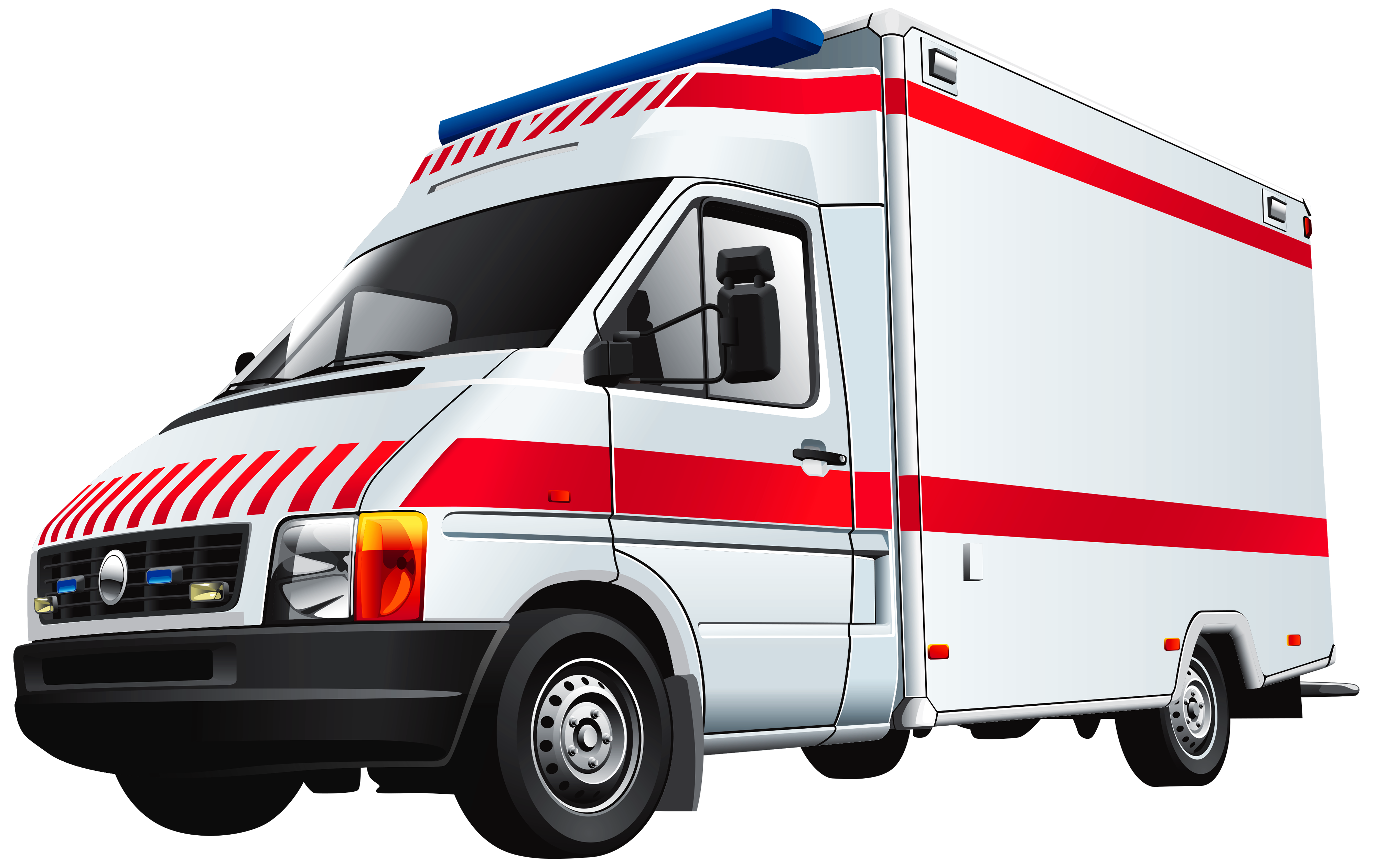 hospital transparent ambulance clipart