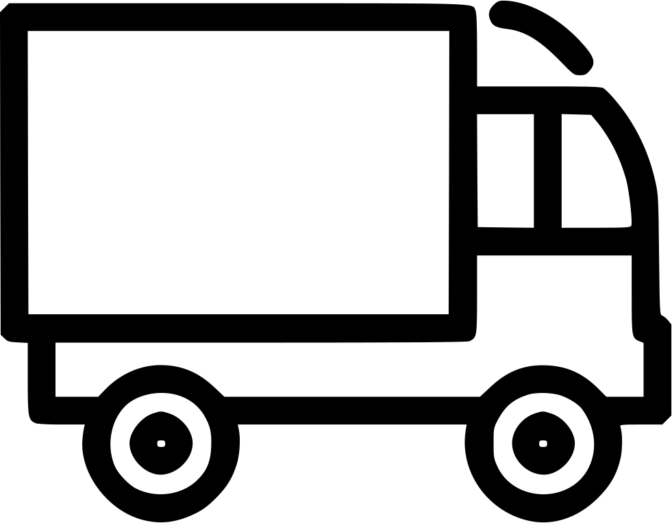 Van clipart svg. Delivery truck shipping png