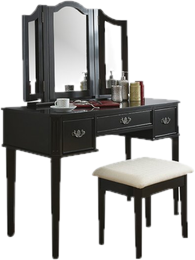 Vanity drawing dressing table. Tables sets you ll