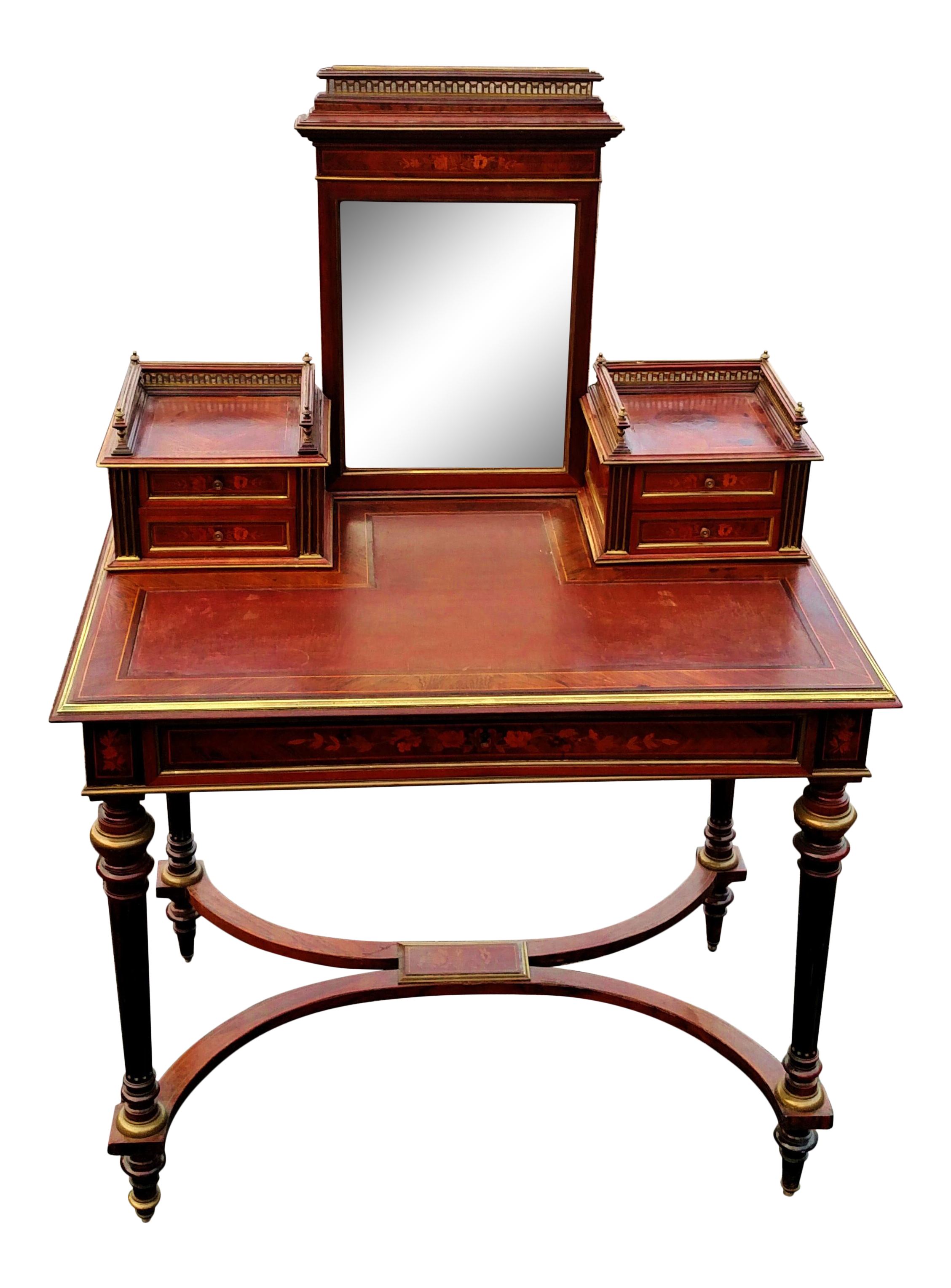 Vanity drawing makeup table. Antique th c french